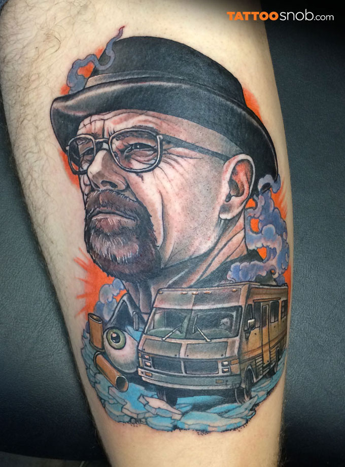 Tatuagens da serie Breaking Bad 14