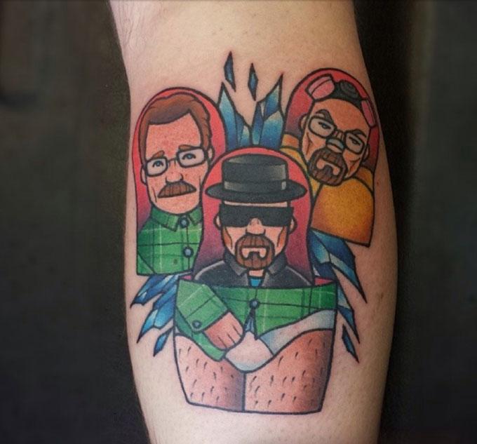 Tatuagens da serie Breaking Bad 18