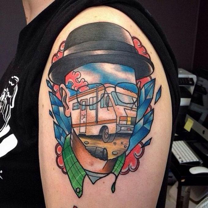 Tatuagens da serie Breaking Bad 19