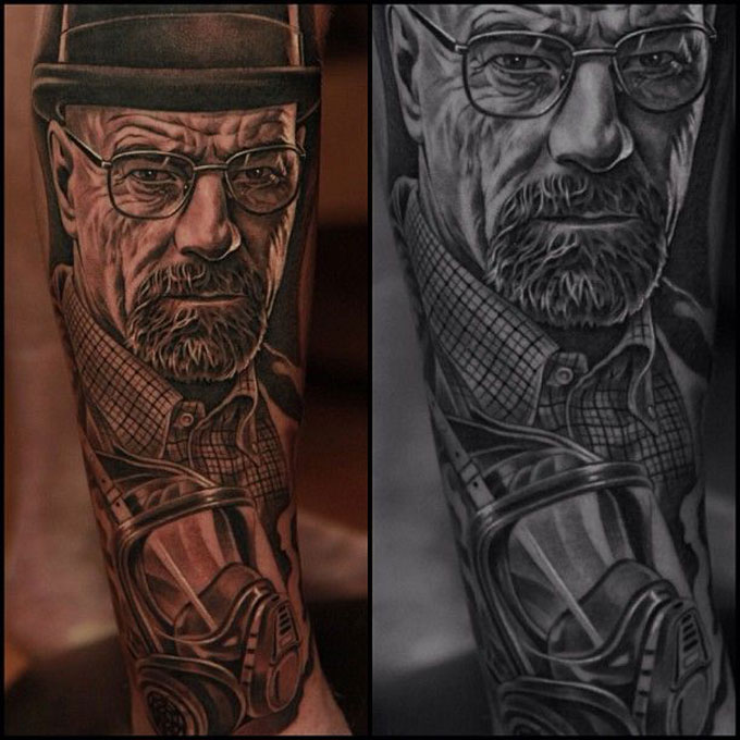 Tatuagens da serie Breaking Bad 21