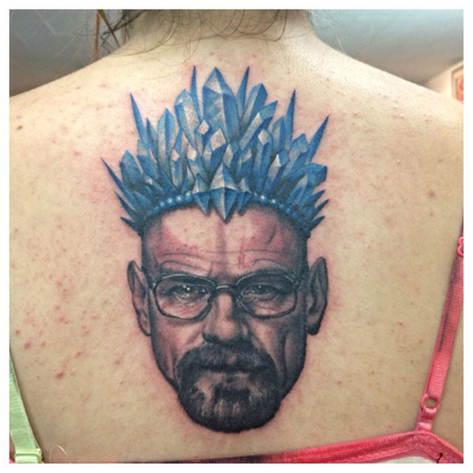 Tatuagens da serie Breaking Bad 24