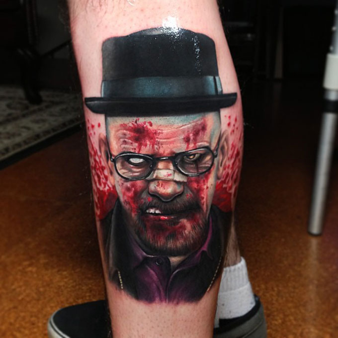 Tatuagens da serie Breaking Bad 25