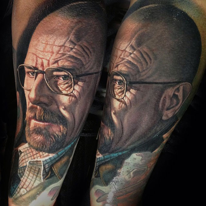 Tatuagens da serie Breaking Bad 26