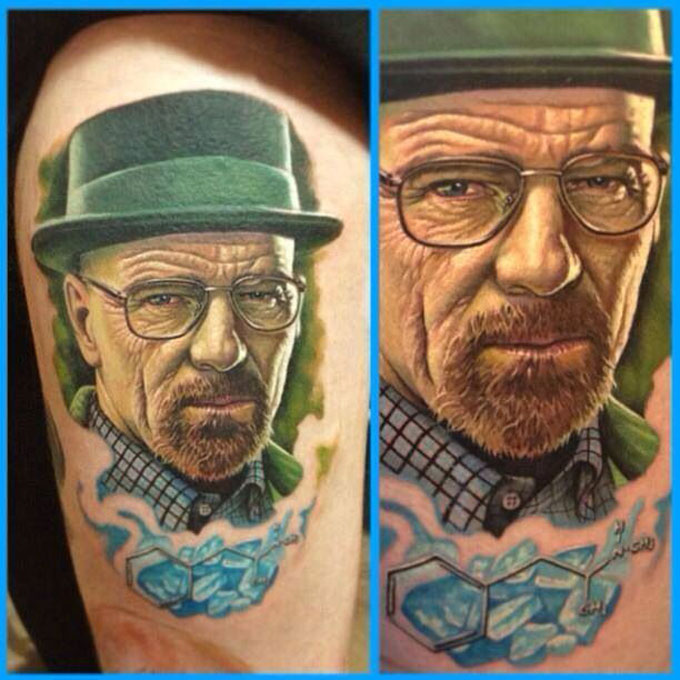 Tatuagens da serie Breaking Bad 28