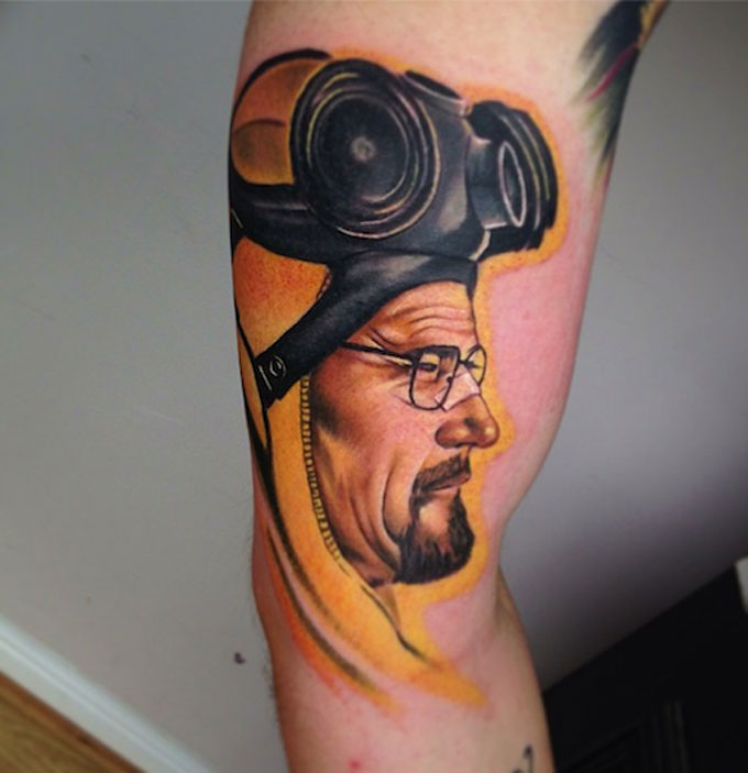 Tatuagens da serie Breaking Bad 29
