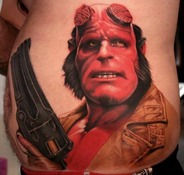 Tatuagens de Hellboy 01
