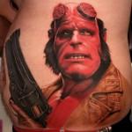54 Tatuagens de Hellboy