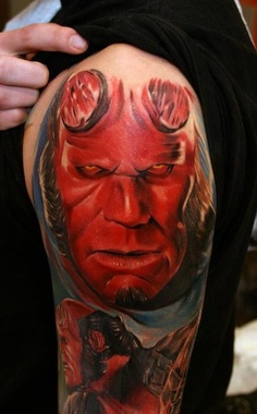 Tatuagens de Hellboy 02