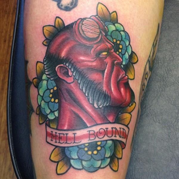 Tatuagens de Hellboy 09