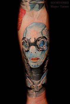 Tatuagens de Hellboy 12