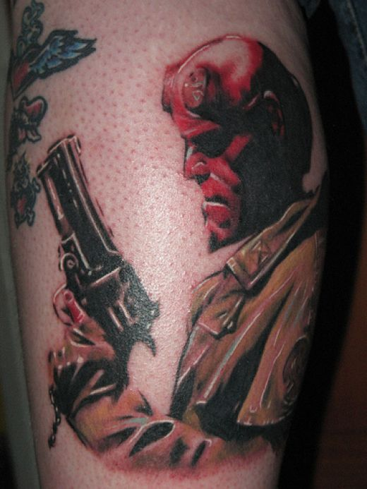Tatuagens de Hellboy 14