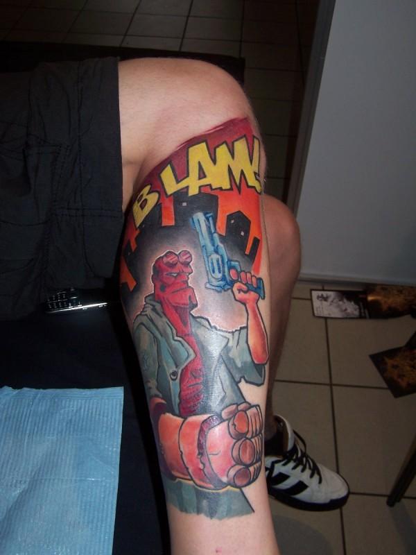 Tatuagens de Hellboy 15