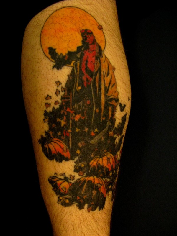 Tatuagens de Hellboy 16