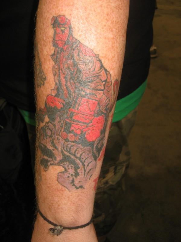 Tatuagens de Hellboy 18