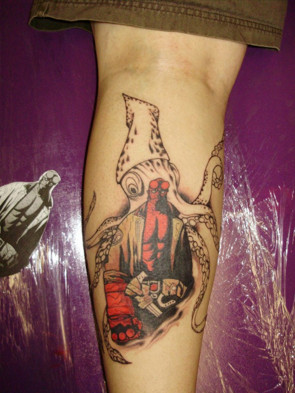Tatuagens de Hellboy 19