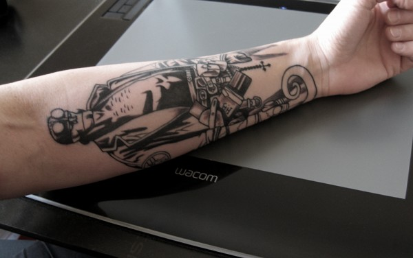 Tatuagens de Hellboy 21