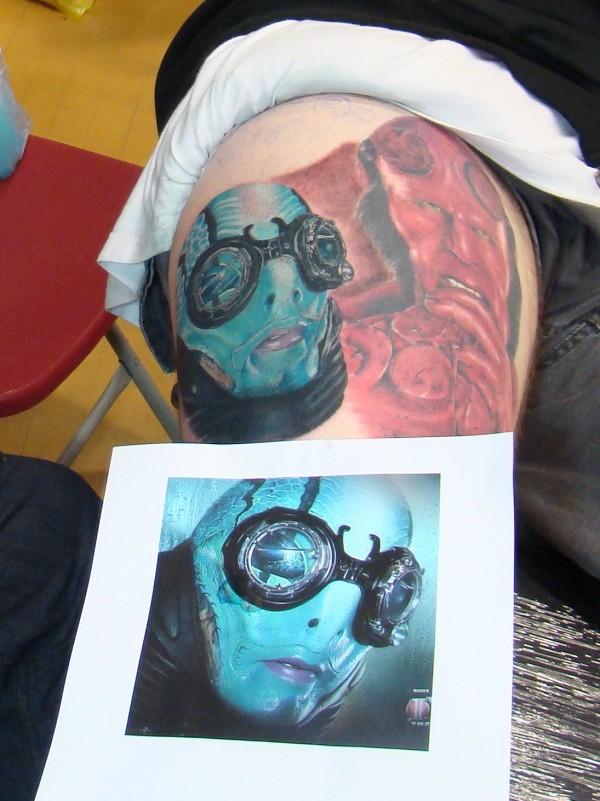 Tatuagens de Hellboy 22