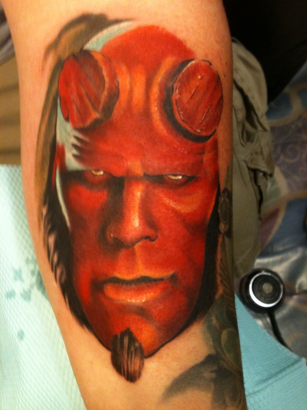 Tatuagens de Hellboy 25