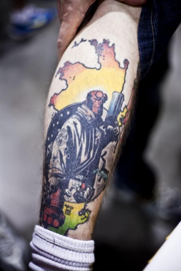 Tatuagens de Hellboy 26
