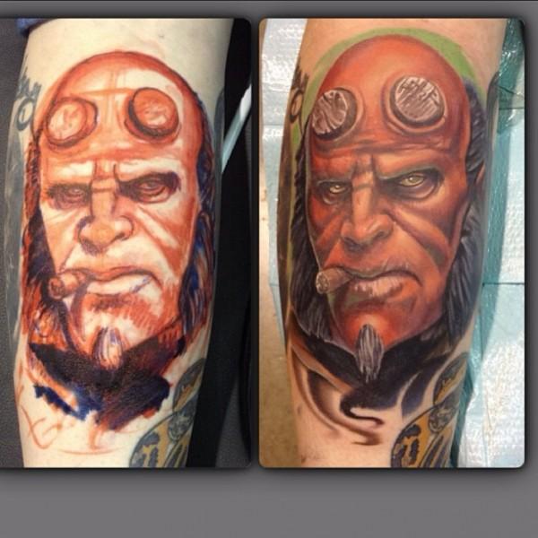 Tatuagens de Hellboy 27