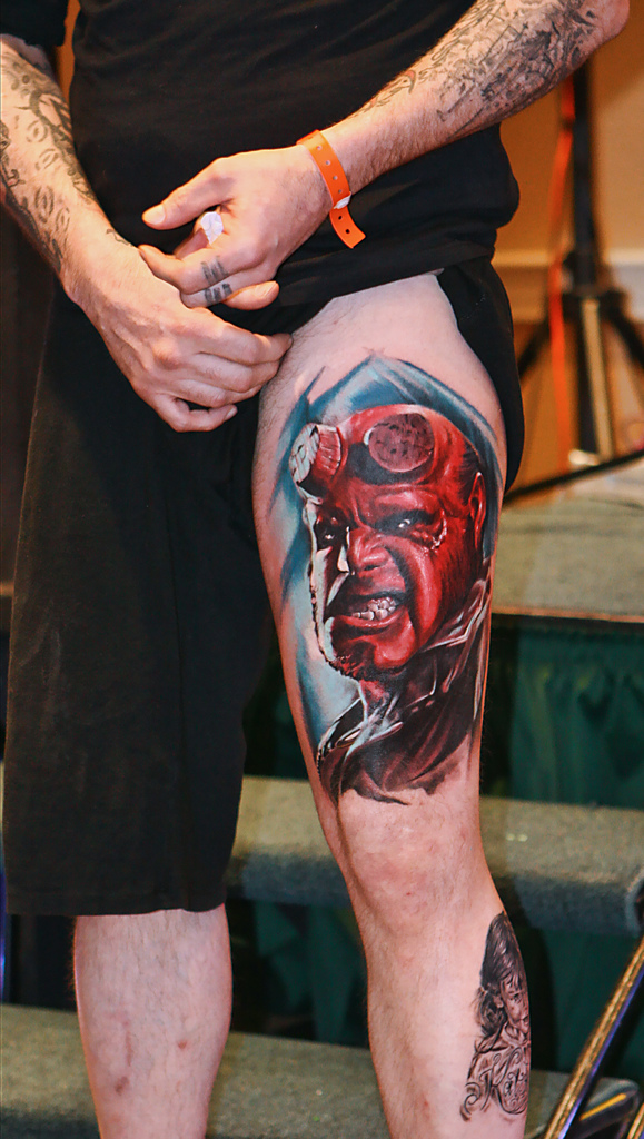 Tatuagens de Hellboy 29