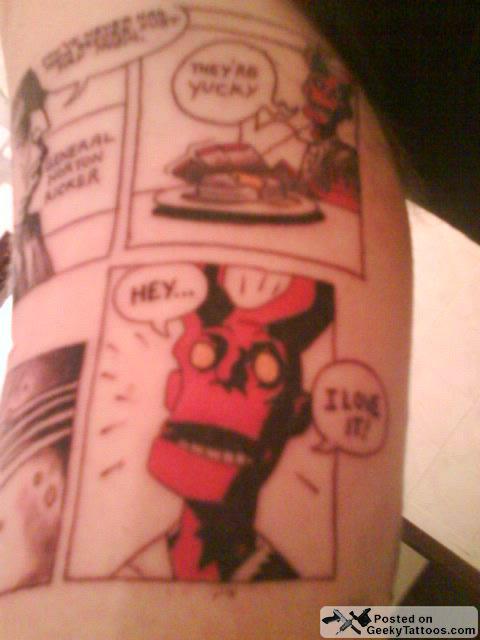 Tatuagens de Hellboy 31
