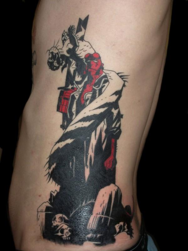 Tatuagens de Hellboy 34