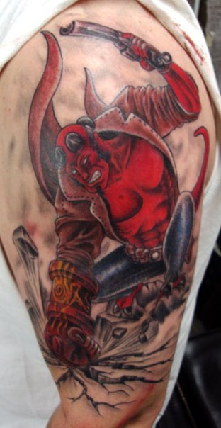Tatuagens de Hellboy 35