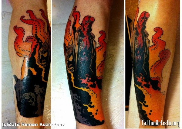 Tatuagens de Hellboy 36