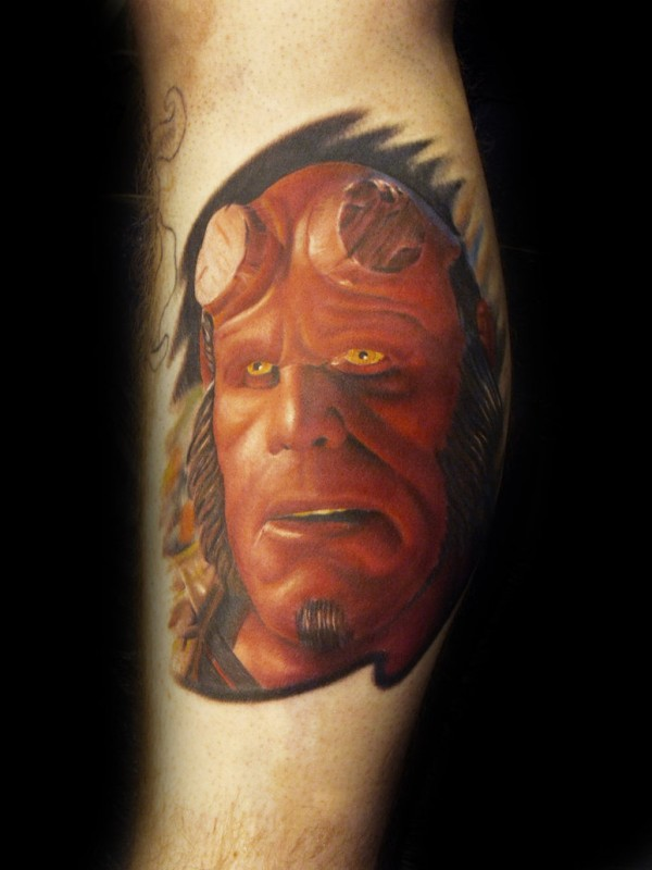 Tatuagens de Hellboy 37