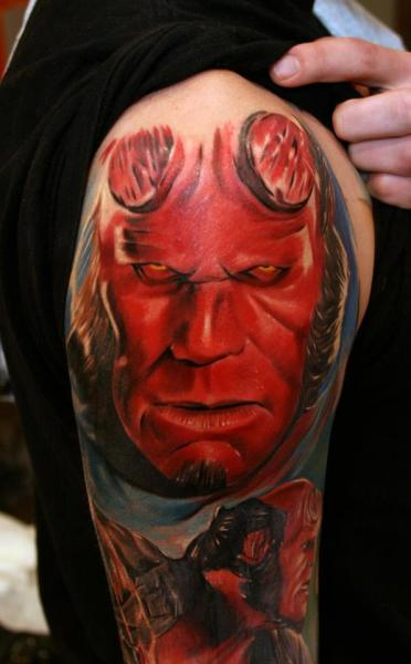 Tatuagens de Hellboy 38