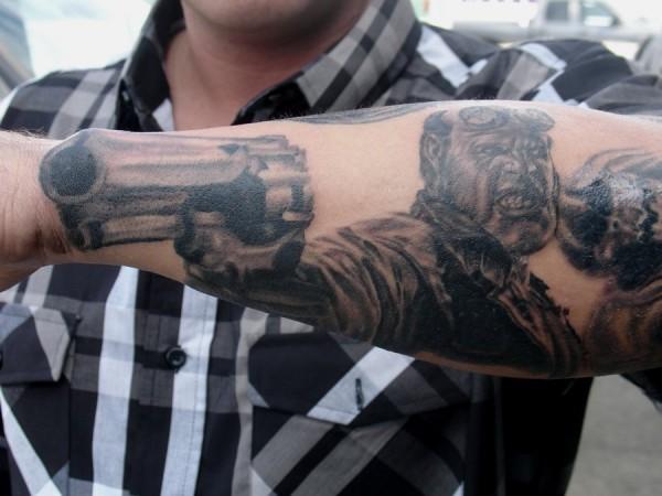 Tatuagens de Hellboy 39