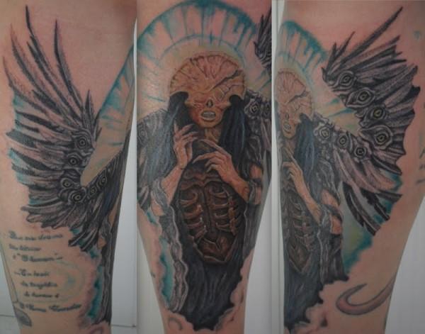 Tatuagens de Hellboy 40