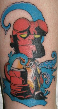 Tatuagens de Hellboy 41