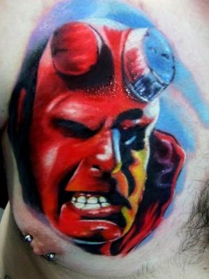 Tatuagens de Hellboy 42