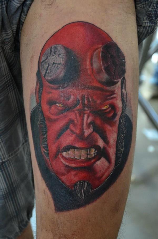 Tatuagens de Hellboy 43