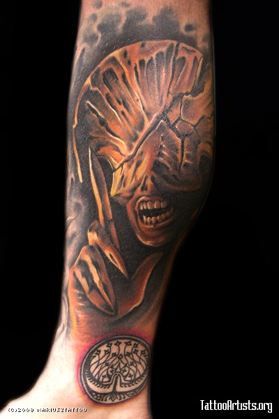 Tatuagens de Hellboy 44
