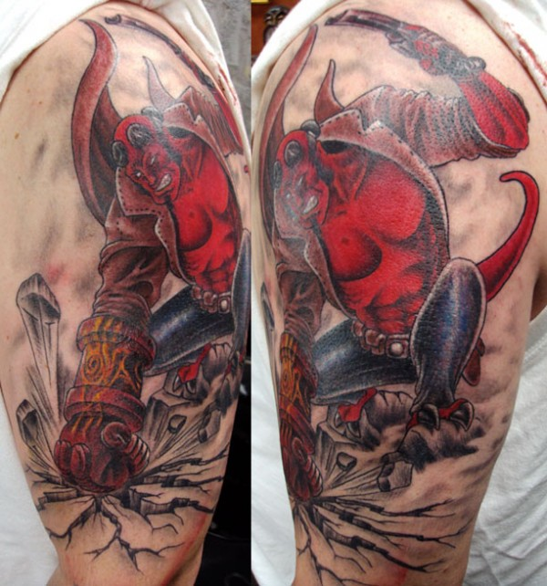Tatuagens de Hellboy 45