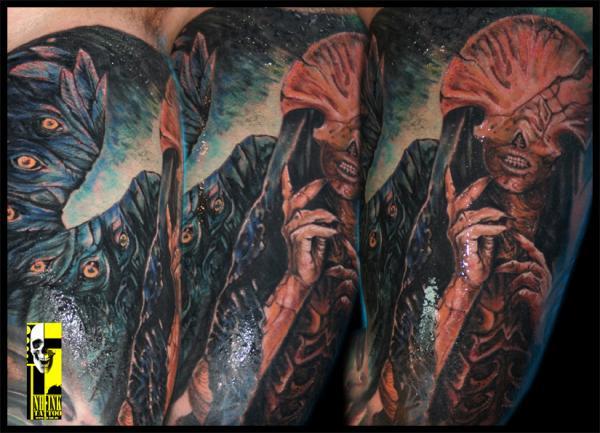 Tatuagens de Hellboy 46