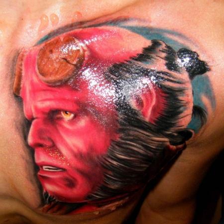Tatuagens de Hellboy 48