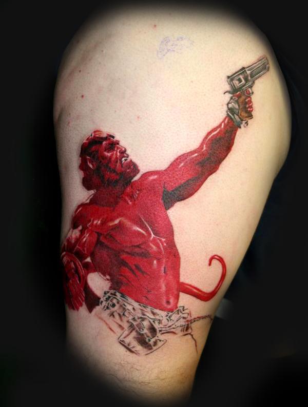 Tatuagens de Hellboy 50