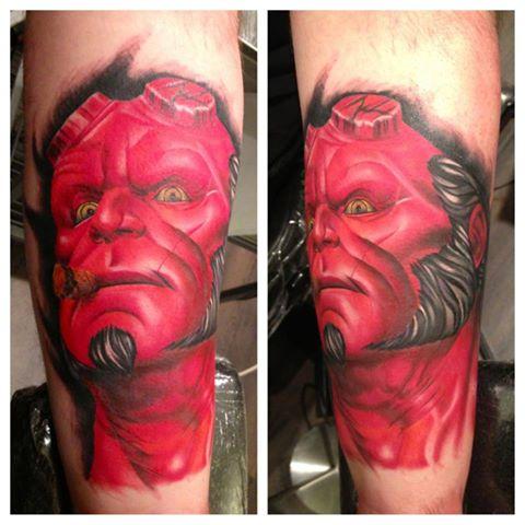 Tatuagens de Hellboy 51