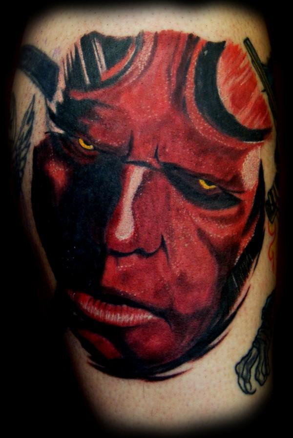 Tatuagens de Hellboy 55
