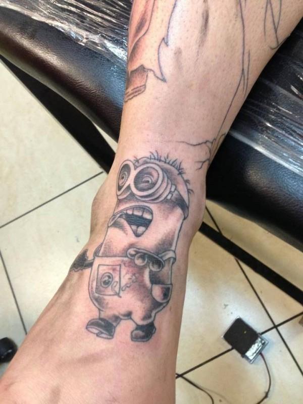 Tatuagens dos Minions de Meu Malvado Favorito 02