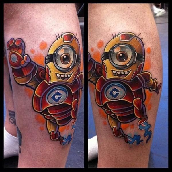 Tatuagens dos Minions de Meu Malvado Favorito 09