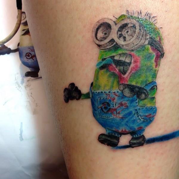Tatuagens dos Minions de Meu Malvado Favorito 11