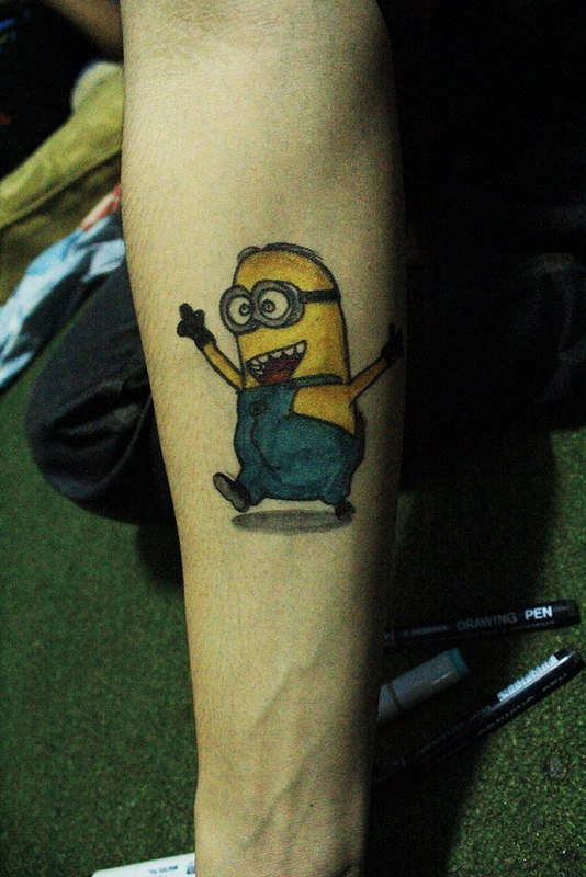 Tatuagens dos Minions de Meu Malvado Favorito 12