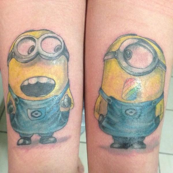 Tatuagens dos Minions de Meu Malvado Favorito 15