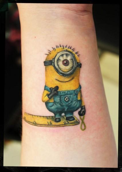 Tatuagens dos Minions de Meu Malvado Favorito 20