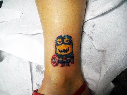 Tatuagens dos Minions de Meu Malvado Favorito 22